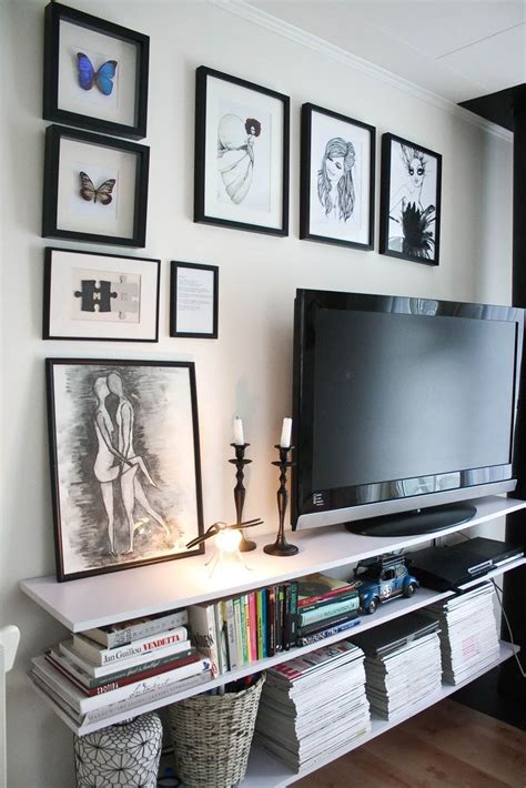 best 25 decorating around tv ideas on pinterest tv wall best 25 tv gallery walls ideas on pinterest decorating