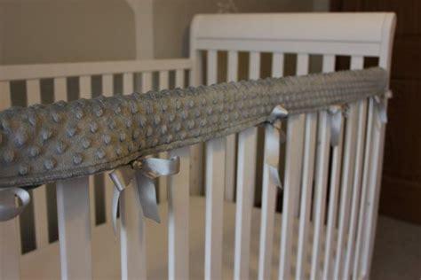 Teething Rail Guards For Cribs by 1 Crib Rail Cover In 28 Colors Solid Minky Teething Guard