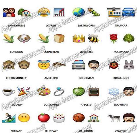 emoji quiz level 57 guess the emoji level 58 answers www imgkid com the