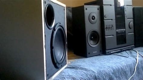 Subwoofer Untuk Home Theater kenwood home theatre powered subwoofer sw 36ht 100 watts rms a beast