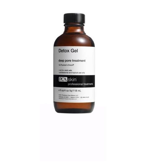 Detox Gel Pore Treatment Directions by Detox Gel Pore Treatment Serious Skin Care By