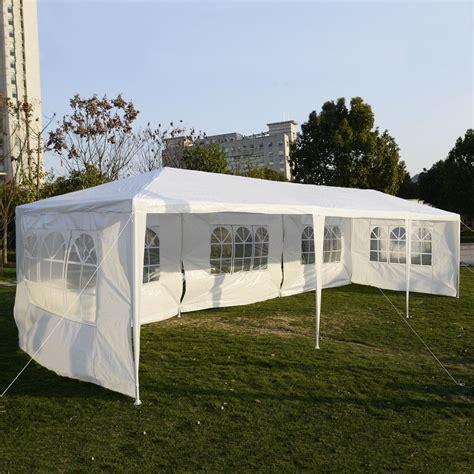 backyard tent party 10 x30 party wedding outdoor patio tent canopy heavy duty gazebo pavilion event ebay