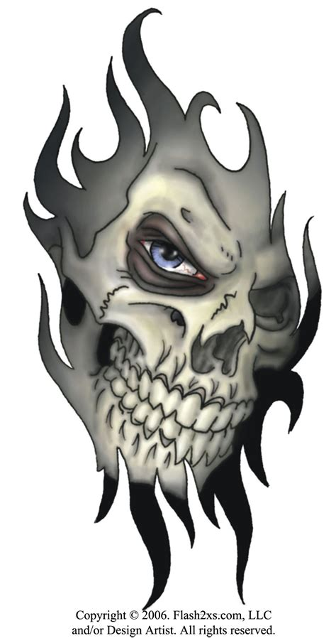 virtual tattoo design free skull designs announces tribal