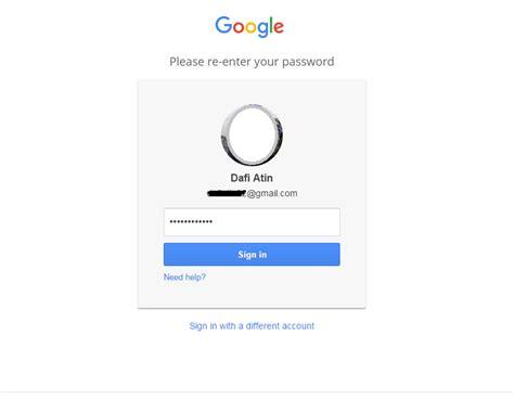 email pemulihan cara menambahkan email pemulihan gmail