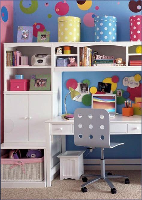 desk storage ideas kid s room