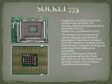 zocalo de microprocesador procesadores y socket