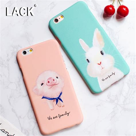 lack lovely cartoon animal dog pig rabbit case  iphone