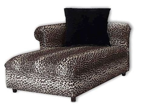 leopard chaise lounge home decor