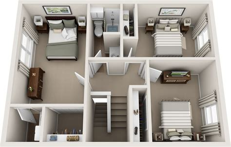Small 2 Bedroom House Plans casas estilo americano 65 projetos e fotos apaixonantes