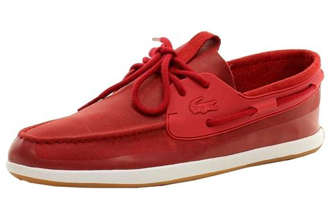 lacoste mens sneakers lacoste s l andsailing 116 2 boat shoes ebay