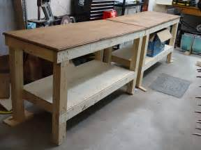 Garage Workbench Design Diy Workbench 5 You Can Build In A Weekend Bob Vila