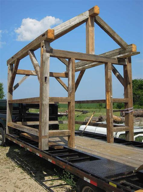 Tiny Cabins by Timber Frame Workshop Sept 19th 21st In Franklinville Nc