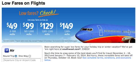 southwest airlines 49 airline sale ends 10 10 13 winter and travel for cheap the