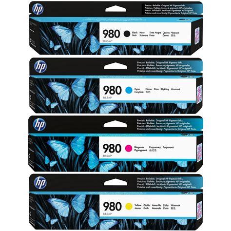 Hp 980 Black Original original hp 980 cmyk multipack ink cartridges d8j10a