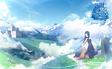 wallpaper anime shigatsu 1 shigatsu no majo no heya hd wallpapers backgrounds