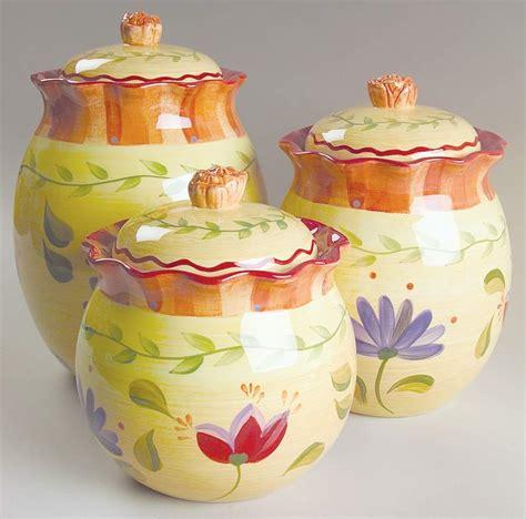 3 piece red ceramic canister set ebay pfaltzgraff napoli stoneware 3 piece canister set