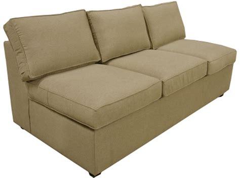 armless queen sleeper sofa yeats sectional armless queen sleeper sofa carolina chair