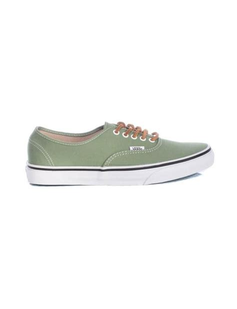 angelus paint vans vans classics authentic shale green brushed twill