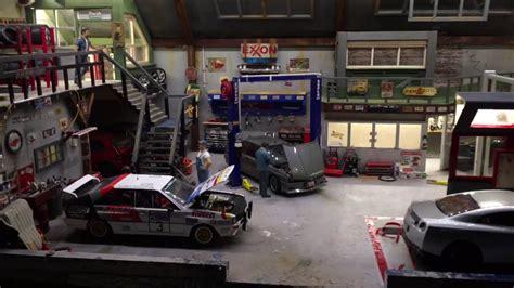 diorama garage 1 18 - Diorama Werkstatt 1 18