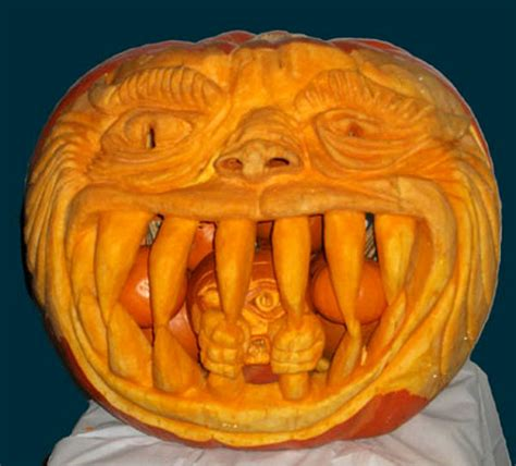 best carved pumpkins 63 mindblowing pumpkin carvings picture gallery