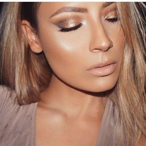 glowing bronze goddess makeup  step  step tutorial