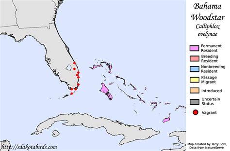 Bahamas Vegetation Map