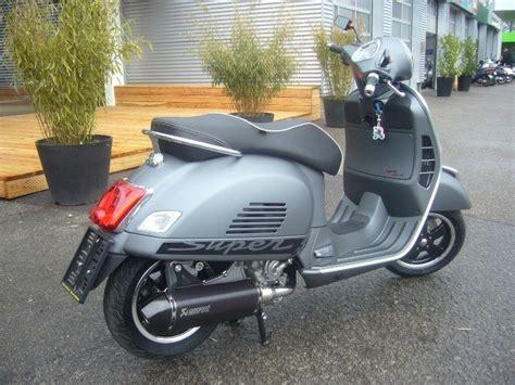 Supersport Motorrad Mit Abs by Vespa Gts 300 Abs Asr Supersport Akrapovic Umbau Als