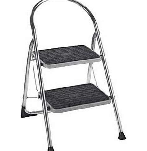 foldable step stool argos argos 2 step chrome step stool review compare prices