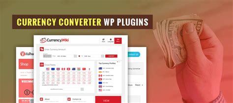 currency converter wordpress plugin 7 currency converter wordpress plugins formget