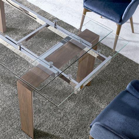 mesa comedor cristal extensible mesas de comedor mesas de comedor extensibles de cristal