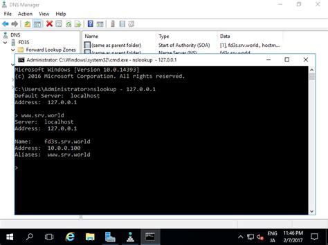 windows server  dns server add cname record