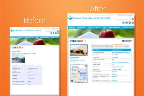 creative web page design bcps web site re designs and web development