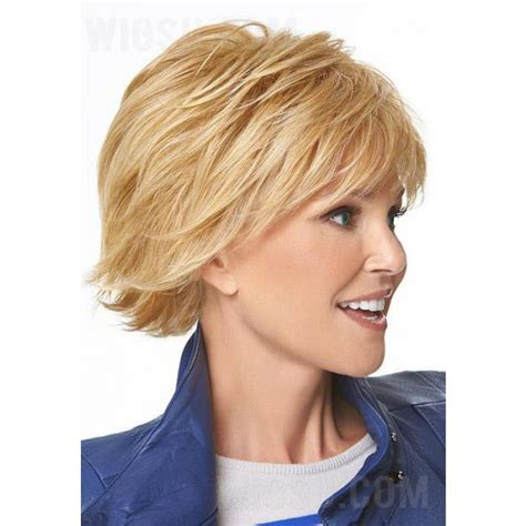 short wispy hair cuts for women in their 60 short straight layered feathery wispy bang haircut