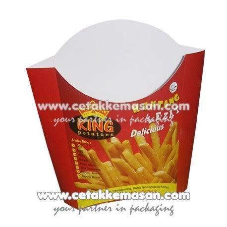 Dus Fries kemasan fries kantong fries dus