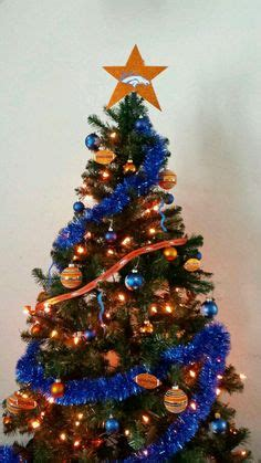1000 images about denver broncos christmas deco on
