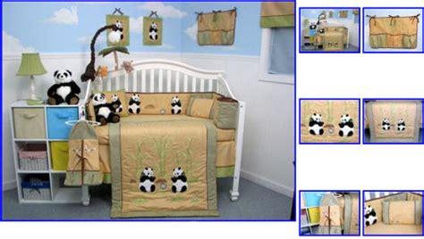 Panda Crib Bedding by Baby Nursery Room Decoration Using Pink Baby Crib