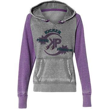 Raglan Kic Kers grey purple vintage zen raglan hoodie kicker problem