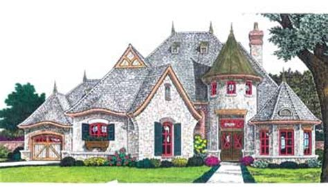 fairytale cottage house plans fairytale cottage hwbdo68932 french country house plan