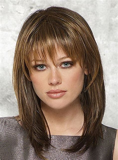 hairstyles 2017 medium length with bangs 23 gorgeous medium hairstyles with bangs 2017 hairstyle