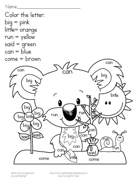 art coloring pages for kindergarten earth day worksheets 02 mrs karle s sight and sound reading