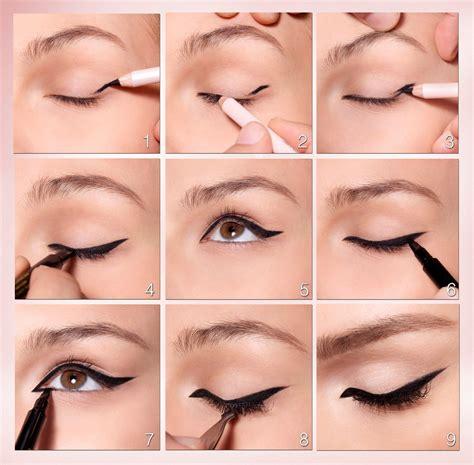 cat eyeliner tutorial step by step easy cat eye makeup style guru fashion glitz glamour