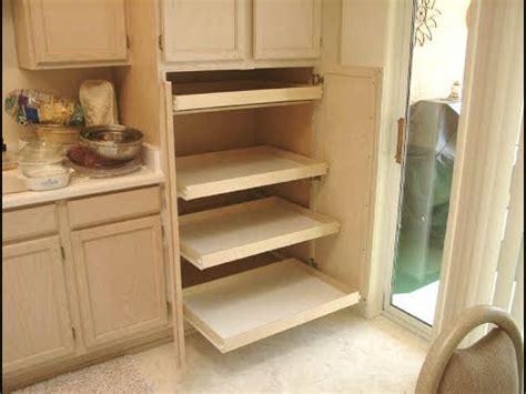 pantry   pull  shelves youtube