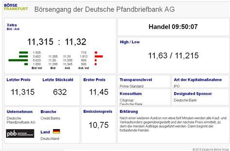 deutsche bank finanzen net deutsche pfandbriefbank aktienforum aktien forum