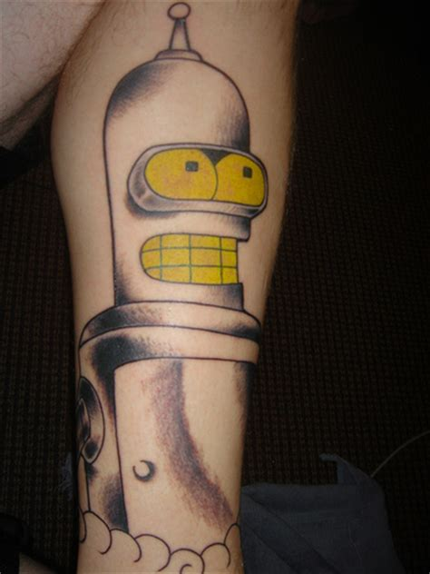 bender tattoo flickr photo sharing