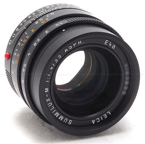 leica 35mm leica 35mm f 1 4 asph summilux m black 6 bit lens 11663