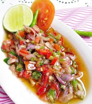 resep masakan indonesia resep sambal matah