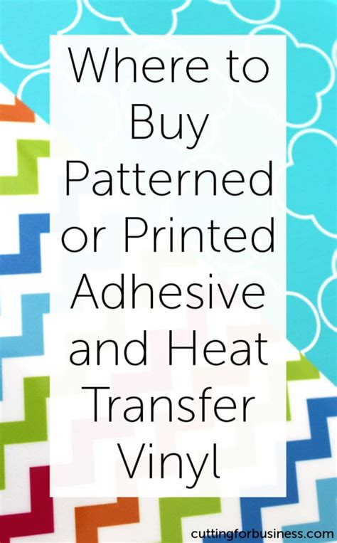 how to use printable heat transfer vinyl with silhouette cameo where to buy patterned or printed adhesive or heat