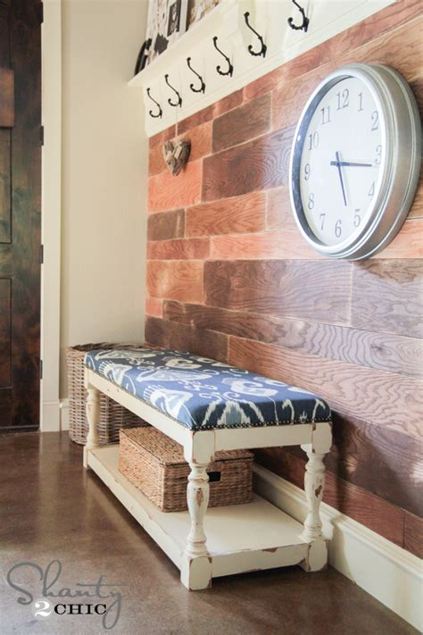 upholstered bench diy 1000 images about laundry room mud room entryway ideas