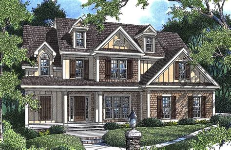 Charming House Plans by Charming Cottage 92003vs Architectural Designs House