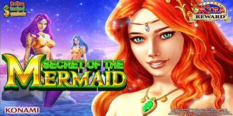 play secret   mermaid slot  konami  slots